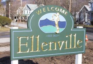 Ellenville Sign